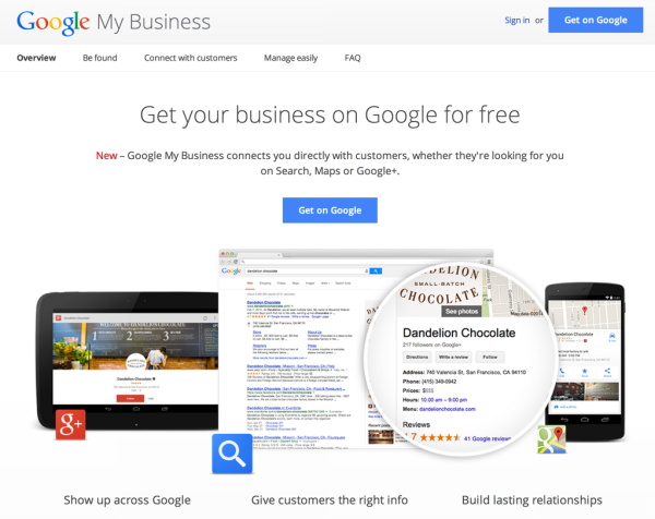 features of Google My Business