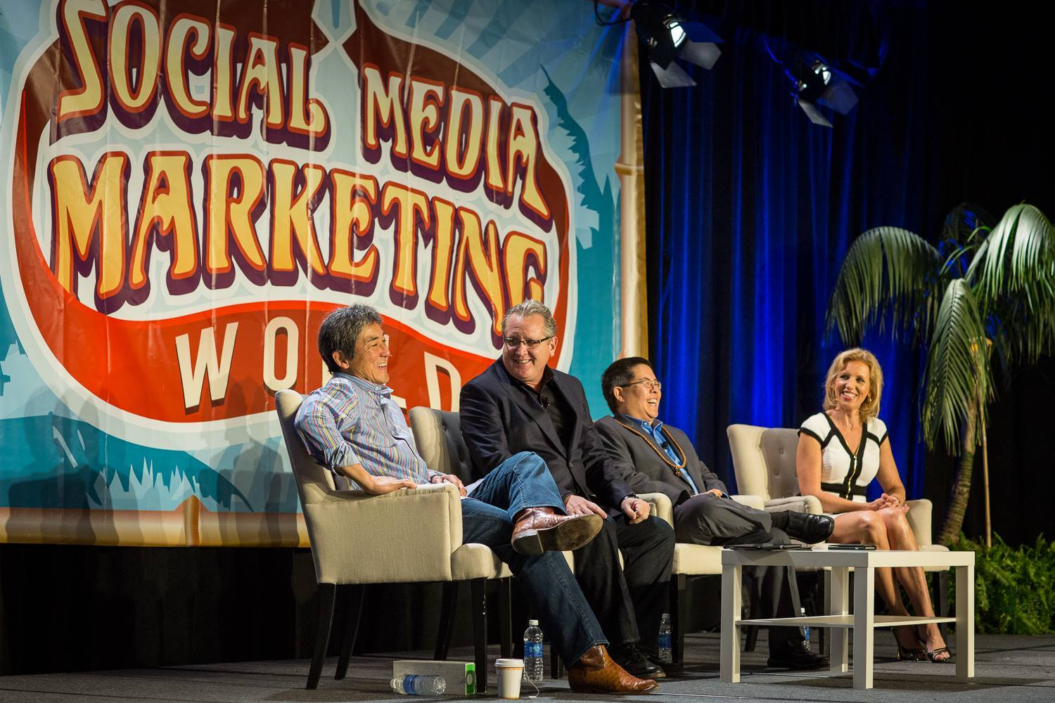 Guy-Kawasaki, Mari Smith, Chris Penn and Mark Schaefer at SMMW15