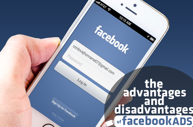 advantage and disadvantage of facebook ads