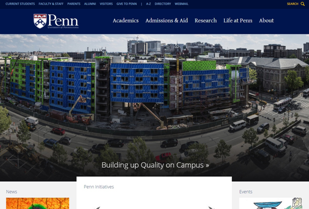 penn university website