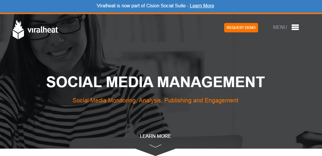 Viralheat social media tool
