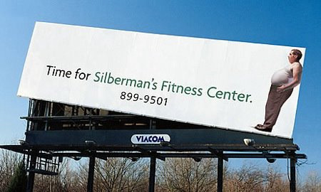 Creative Ads by Silberman's Fitness Center