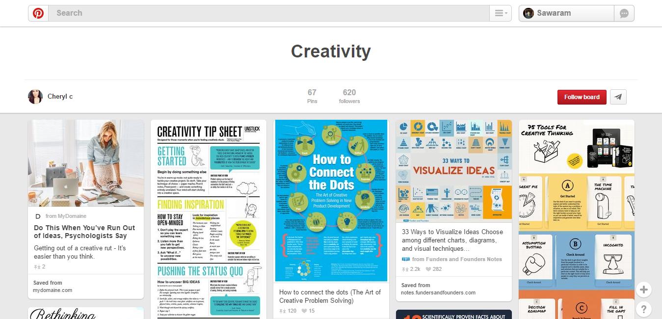 Creativity-on-Pinterest