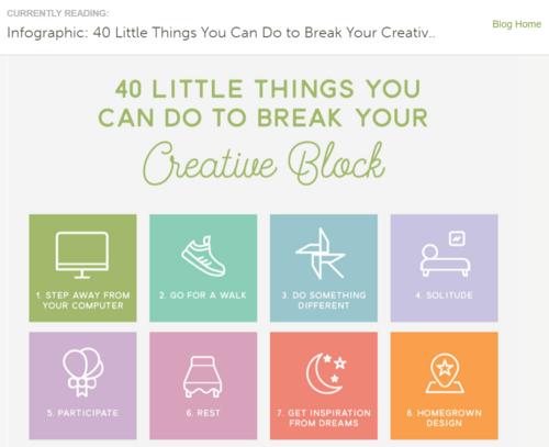 creativemarket infographic