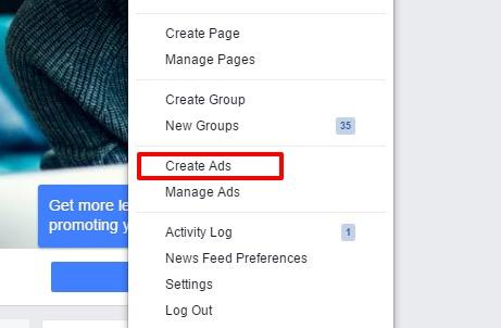 create-ads-menu