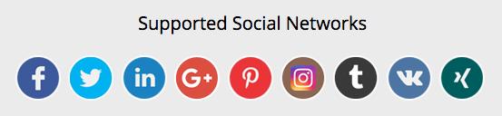 socialpilot supported social networks