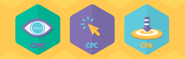 Use CPM, CPC, and CPA to convert customers
