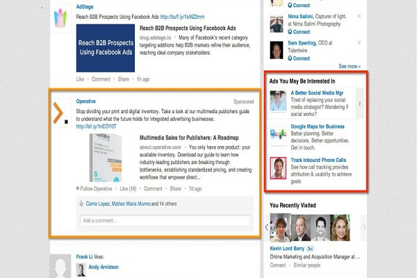 Promote your LinkedIn Ads