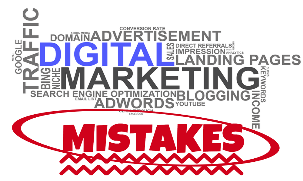 4 Digital Marketing Mistakes That Can Stop Your Business Growth