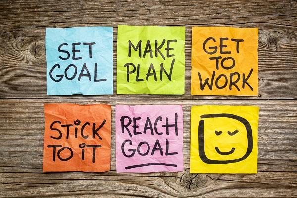 set goal make plan