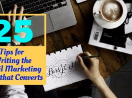 25 Tips for Writing the Email Marketing Copy that Converts
