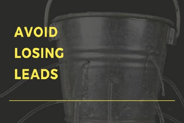 Avoid losing Leads