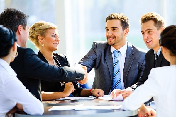Human salespeople