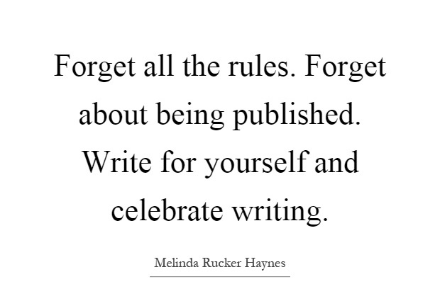Writing for Yourself