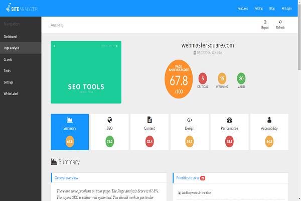 site-analyzer-page-analysis