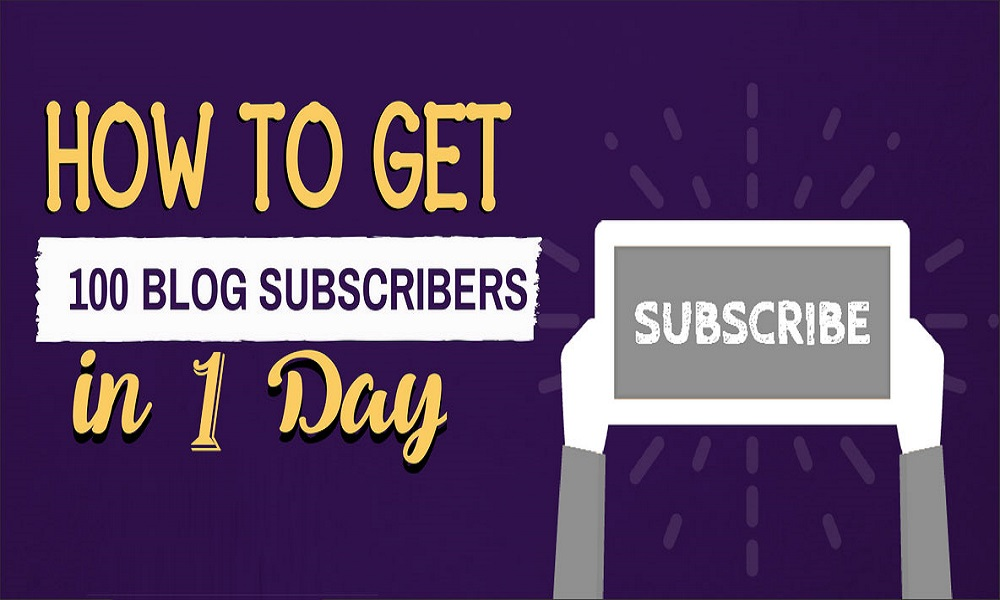 How to Gain Over 100 Blog Subscribers a Day
