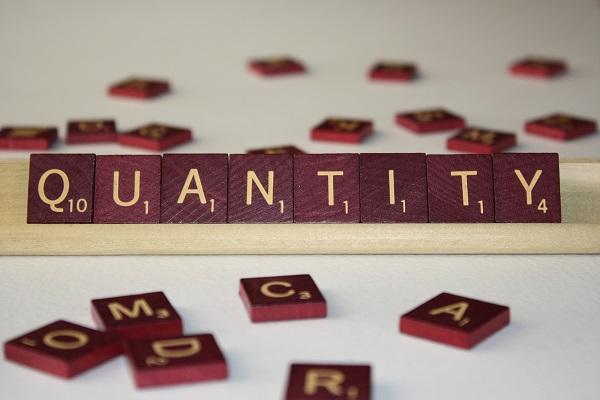 quantity