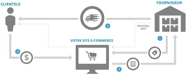 Dropshipping Ecommerce Busines model