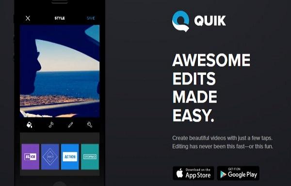 Quik-video-editing-tool