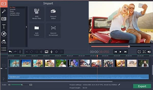 Record and Import Media From Different Sources