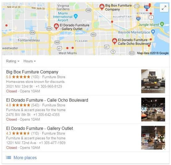 Optimize your Google My Business page