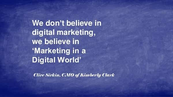Marketing in a Digital World