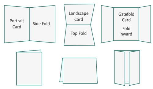 Select a Greeting Card Size and Format