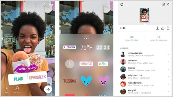 Use New Features instagram