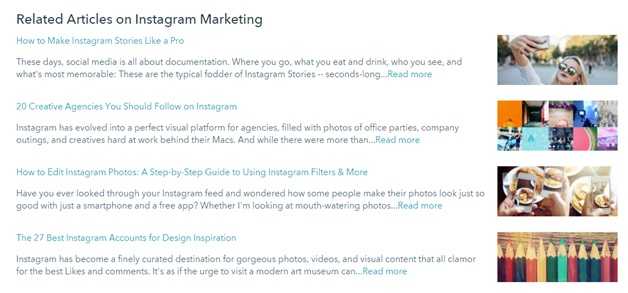 Related Articles on Instagram Marketing