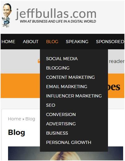 website category