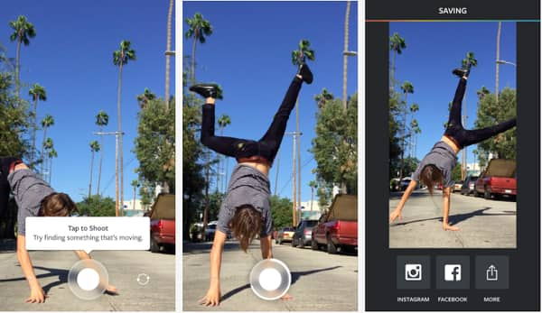 Boomerang to enhance your Instagram Stories