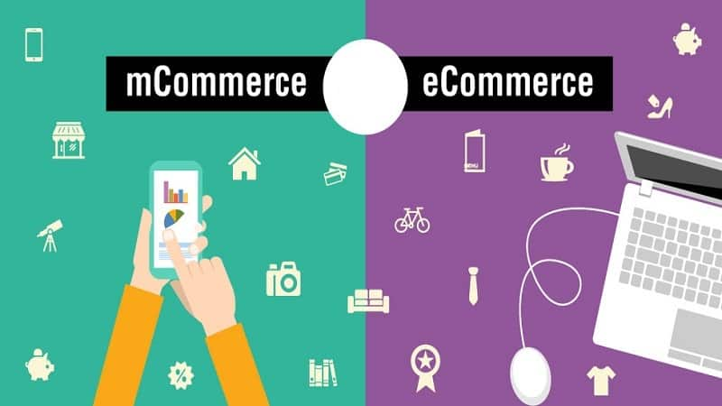 m-Commerce and e-Commerce business