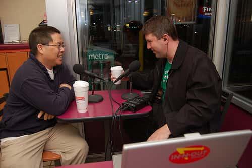 John Wall and Christopher Penn, Marketing over Coffee