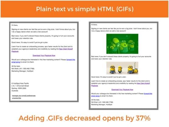 Branded HTML emails