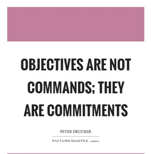 Not having an objective
