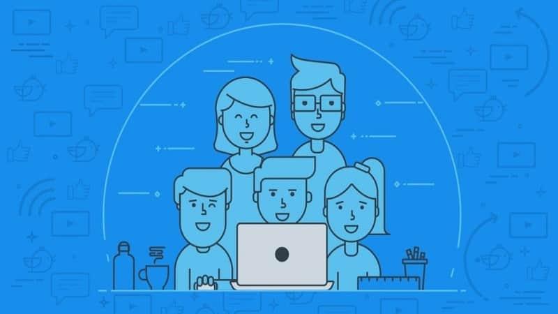 recruiting brand social media team