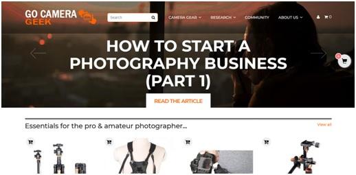 Go Camera Geek