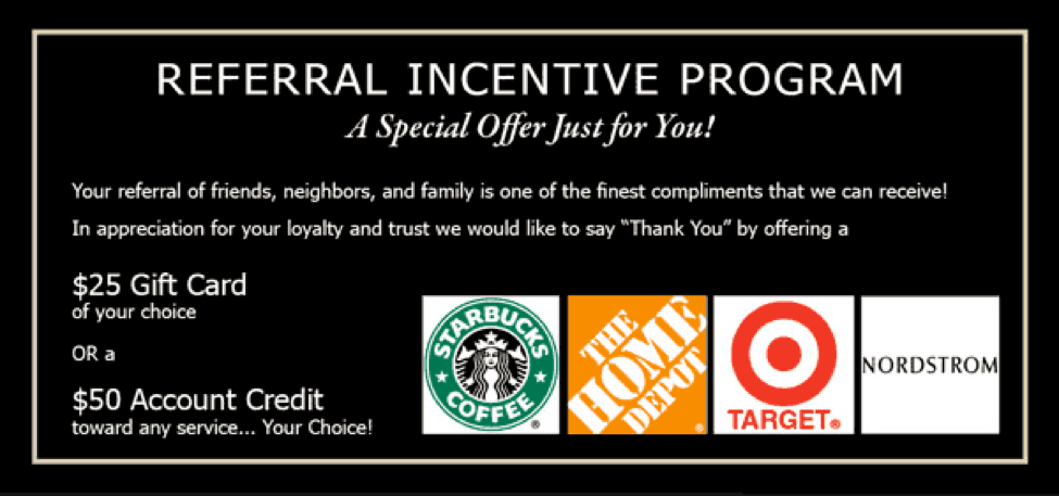 referral incentive program