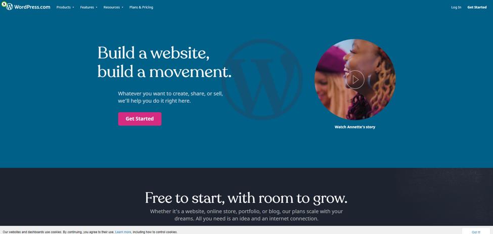 WordPress hosting plans