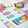 minimalist UI design mobile app