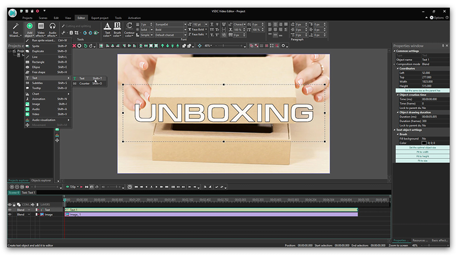 Use Hollywood-level Effects in Your Video with a Free Editor