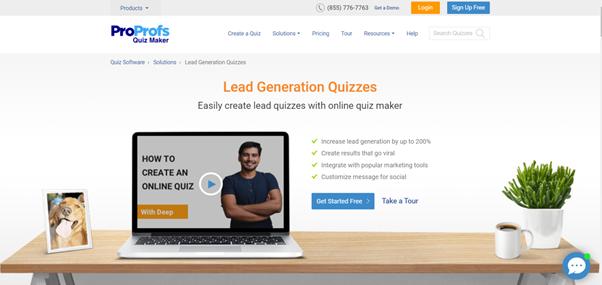 proprofs-lead-quiz-maker
