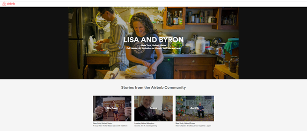 Airbnb's success story