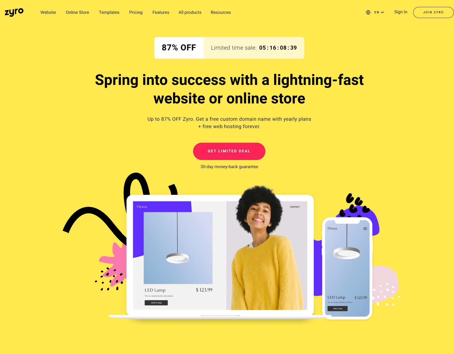 Website-Builder-Build-a-Website-or-an-Online-Store-Zyro