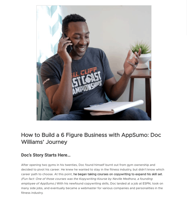 Case Study/Blog Post Testimonials