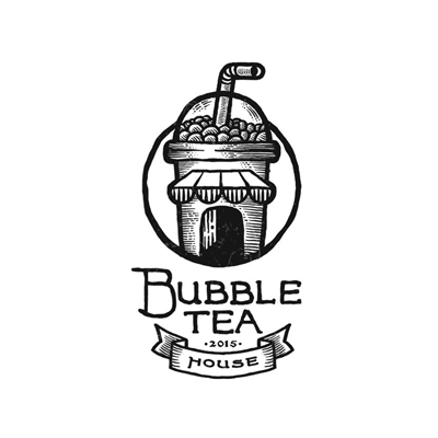 bubble tea and house