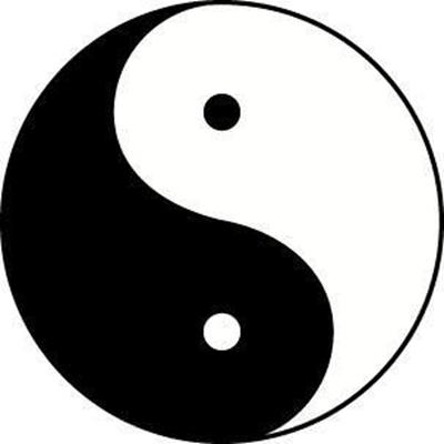 Daoist Taijitu Yin-Yang symbol