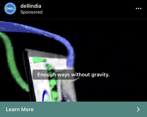 Dell India video ad